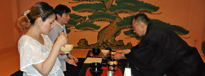 Authentic Cha-kaiseki and Tea Ceremony